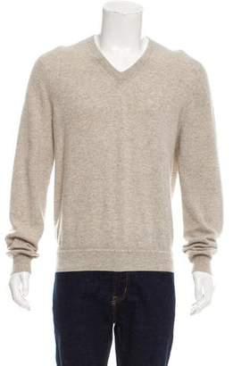 Dunhill Cashmere V-Neck Sweater
