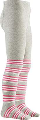 Playshoes Girls High Quality Tights Striped,3 (Size:3-4 Years)