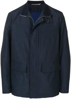 Canali zip-up jacket
