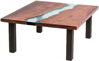 """Dipinto Di Blu Black Walnut Coffee Table """"River"""""""