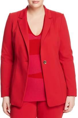 Marina Rinaldi Cinzia Single-Button Blazer