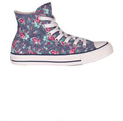 Converse Floral Hi Top