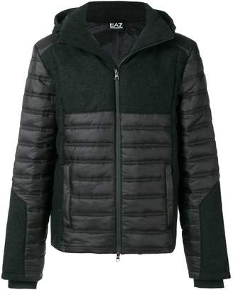 Emporio Armani Ea7 zipped padded jacket