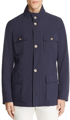Eleventy Stretch Nylon Hooded Field Jacket - 100% Exclusive $895 thestylecure.com