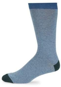 Saks Fifth Avenue Textured Crew Socks