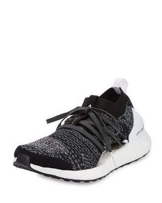 adidas by Stella McCartney Ultra Boost X Knit Sneaker, Black/White $200 thestylecure.com