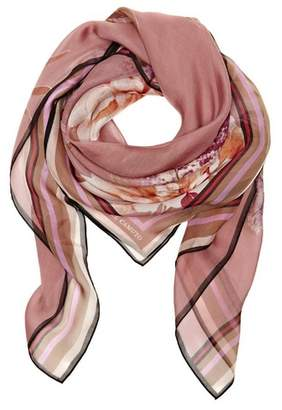 Vince Camuto Abstract Blossom-print Scarf