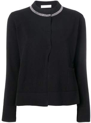 Fabiana Filippi embellished collar cardigan