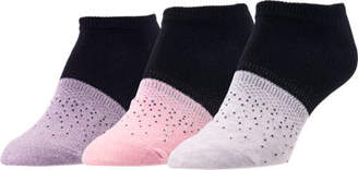 Sof Sole Women's Finish Line 3-Pack Ombre No-Show Socks