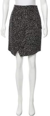 Proenza Schouler Patterned Asymmetrical Skirt w/ Tags