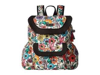 Sakroots Artist Circle Flap Backpack