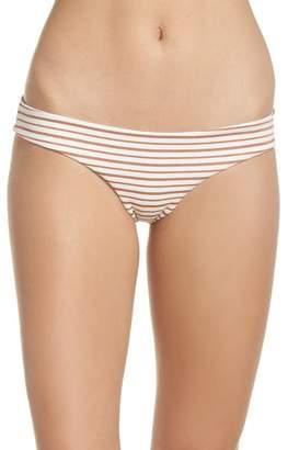 L-Space Sandy Stripe Bikini Bottoms