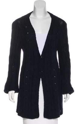 Balenciaga V-Neck Knit Cardigan
