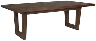 Artistica Brio Rectangular Dining Table - Marrone Brown
