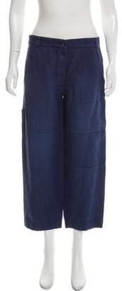 Burberry Casual Wide-Leg Pants w/ Tags