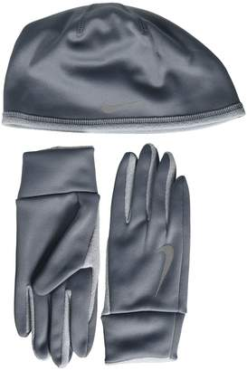 Nike Run Thermal Hat and Gloves Set Athletic Sports Equipment