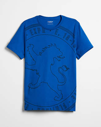 Express Large Lion Graphic Tee