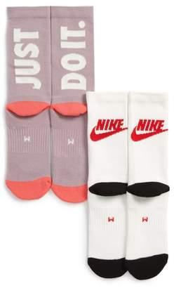 Nike 2-Pack Crew Socks