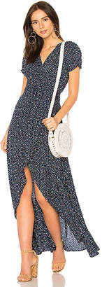 AUGUSTE Daphne Easy Days Wrap Maxi Dress
