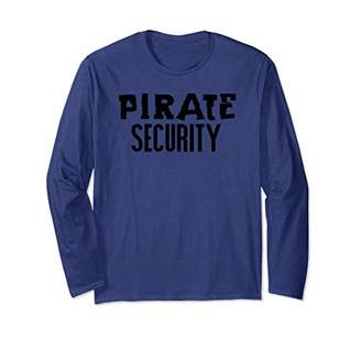 Pirate Security Funny Halloween Parent Costume Long Sleeve