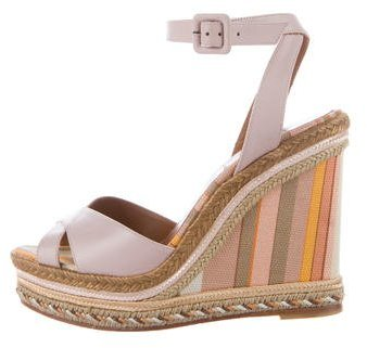 Valentino Native Couture 1975 Wedges