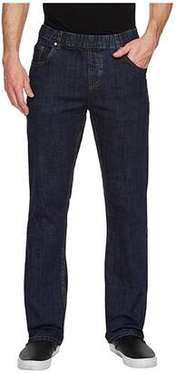 NBZ(r) Elastic Waist Straight Leg Jean in Electric Blue