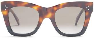 Celine Catherine cat-eye acetate sunglasses