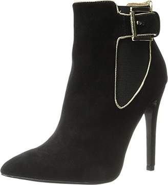 Just Cavalli Women's High Heel Ankle Boot w/Piping