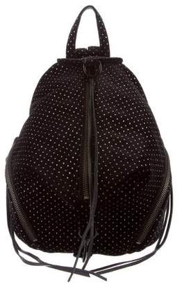 Rebecca Minkoff Mini Velvet Julian Backpack