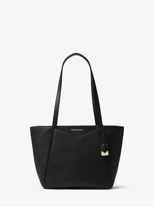 MICHAEL Michael Kors Whitney Small Pebbled Leather Tote