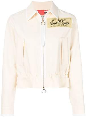 Emilio Pucci embroidered patch jacket