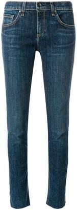 Rag & Bone Jean stonewashed slim-fit jeans