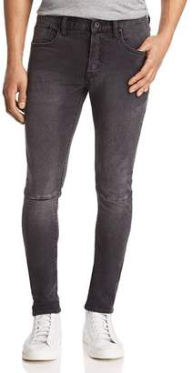 PRPS Goods & Co. Stretch Skinny Fit Jeans in Faded Black