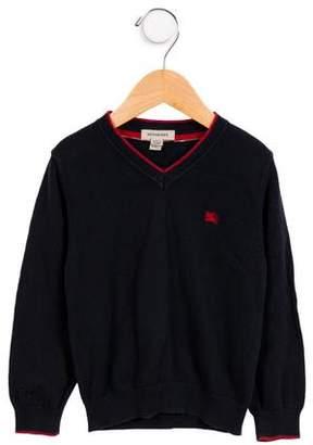 Burberry Boys' V-neck Sweater
