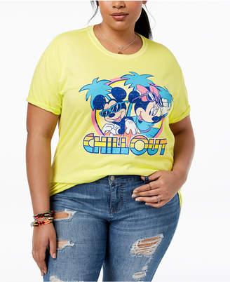 Disney Plus Size Mickey & Minnie Mouse T-Shirt