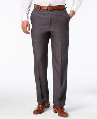 Haggar Microfiber Performance Classic-Fit Dress Pants, Created for Macy's