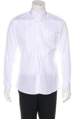 Gucci Pleated Dress Shirt