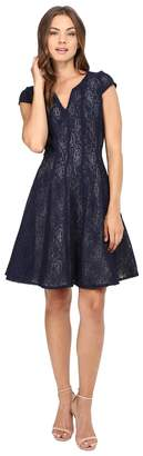 Christin Michaels Alda Lace Dress Women's Dress