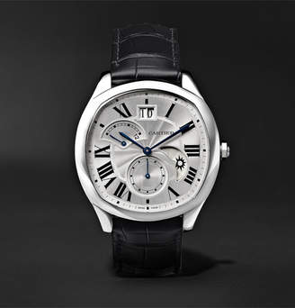 Cartier Drive De Automatic 40mm Steel And Alligator Watch