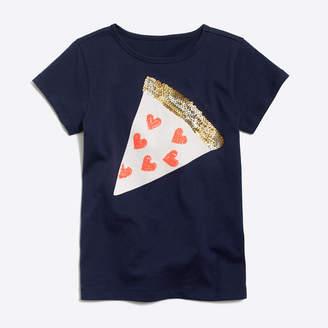 J.Crew Factory Girls' pizza keepsake T-shirt