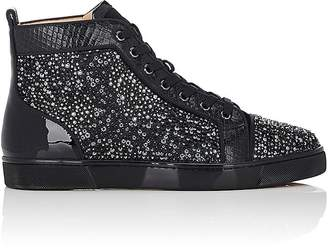 Christian Louboutin Men's Louis Flat Sneakers