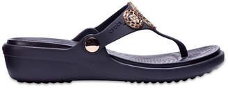 Crocs Sanrah Womens Wedge Sandals