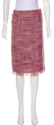 Calypso Tweed Knee-Length Skirt