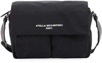 Stella McCartney Medium Eco Nylon Logo Shoulder Bag