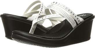 Skechers Cali Women's Rumblers 38559 Wedge Flip Flop