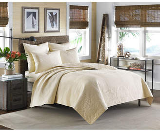 Tommy Bahama Home Nassau Ivory King Quilt Bedding