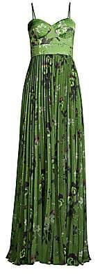 Flor et. al Women's Rachel Bustier Print Gown