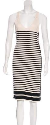 Rag & Bone Striped Midi Dress