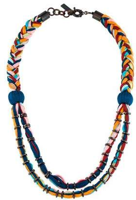 Missoni Multicolored Double Rope Necklace