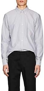 Acne Studios Men's Ohio Striped Cotton Shirt - White